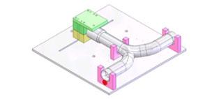 Rörbockningsverktyg Kapfixtur
