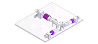 Rörbockningsverktyg Kontrollfixtur