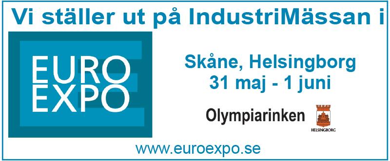 Vi Kommer Att Ställa Ut På EURO EXPO