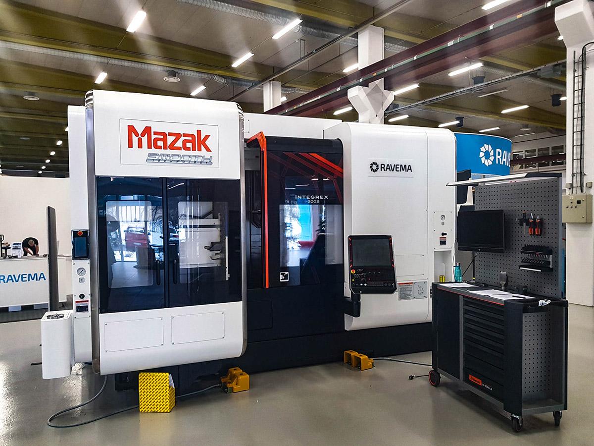 Mazak Integrex I200S